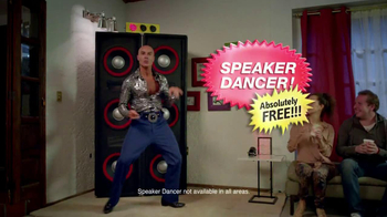 Tostitos Fajita Scoops TV Spot, 'Speaker Dancer'