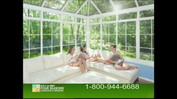 Four Seasons Sunrooms TV Spot, '40th Anniversary'