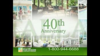 Four Seasons Sunrooms TV Spot, '40th Anniversary' - Thumbnail 7