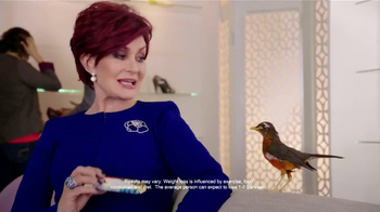 Atkins Quick-Start Kit TV Spot, 'Bird' Featuring Sharon Osbourne - 3658 commercial airings