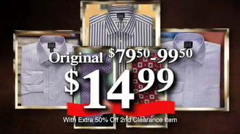 JoS. A. Bank TV Spot, 'January 2014 70% off & Clearance' - Thumbnail 10