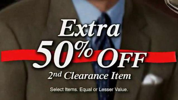 JoS. A. Bank TV Spot, 'January 2014 70% off & Clearance' - Thumbnail 7