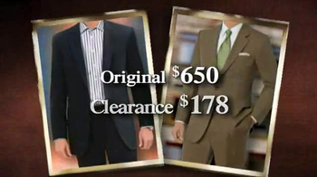 JoS. A. Bank TV Spot, 'January 2014 70% off & Clearance' - Thumbnail 8