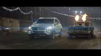 2014 Mercedes-Benz M-Class TV Spot, 'Demolition Derby' - Thumbnail 4