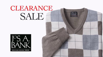 JoS. A. Bank TV Spot 'January 2014 Clearance Suits' - 90 commercial airings