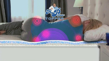 My Pillow Topper TV Spot 'Hot and Cold' - Thumbnail 3