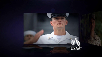 USAA TV Spot, 'MIllion Fan Salute' - Thumbnail 1