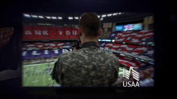USAA TV Spot, 'MIllion Fan Salute' - Thumbnail 3