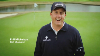 KPMG Phils Blue Hat TV Spot Featuring Phil Mickelson