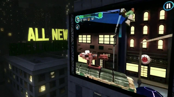 Nickelodeon TMNT Rooftop Run Mobile App TV Spot - Thumbnail 4