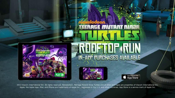 Nickelodeon TMNT Rooftop Run Mobile App TV Spot - Thumbnail 9