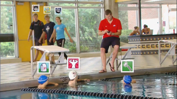 USA Swimming Deck Pass TV Spot - 4 commercial airings