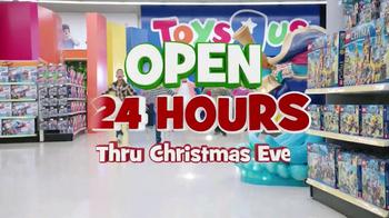 Toys R Us TV Spot, 'Open 24 Hours Thru Christmas Eve' - Thumbnail 2