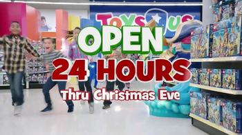 Toys R Us TV Spot, 'Open 24 Hours Thru Christmas Eve' - Thumbnail 3