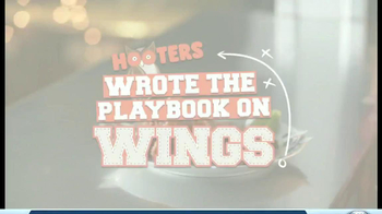 Hooters TV Spot, 'Playbook on Wings' - Thumbnail 1
