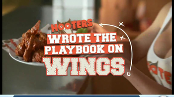 Hooters TV Spot, 'Playbook on Wings' - Thumbnail 2