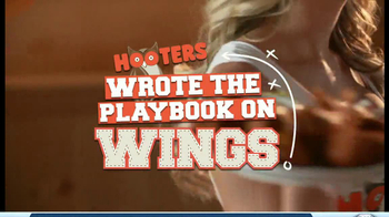 Hooters TV Spot, 'Playbook on Wings' - Thumbnail 3