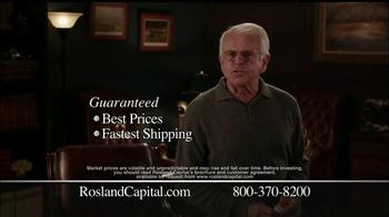 Rosland Capital TV Spot, 'Gold & Silver' - Thumbnail 7