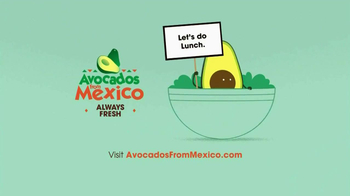 Avocados From Mexico TV Spot, 'Lunch' - Thumbnail 9