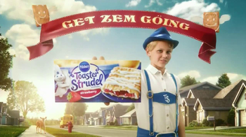 Pillsbury Toasters Strudel TV Spot, 'Good Morning With Hans Strudel' - Thumbnail 6