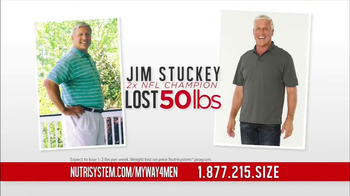 Nutrisystem TV Spot, 'New Year' Featuring Dan Marino - 113 commercial airings