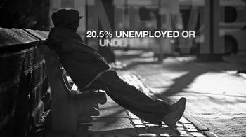 ns For Population Stabilization TV Spot, 'American Unemployment' - Thumbnail 2