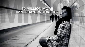 ns For Population Stabilization TV Spot, 'American Unemployment' - Thumbnail 7