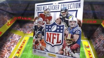Panini 2013 NFL Sticker Collection TV Spot, 'Collect Them All'