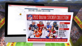 Panini 2013 NFL Sticker Collection TV Spot, 'Collect Them All' - Thumbnail 9
