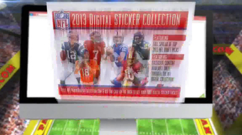 Panini 2013 NFL Sticker Collection TV Spot, 'Collect Them All' - Thumbnail 8