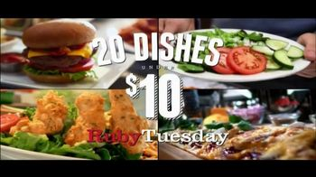 Ruby Tuesday TV Spot, \'20 Under 10\'