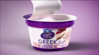 Dannon Light & Fit Greek Blends TV Spot, 'Paper Muffin' - Thumbnail 7