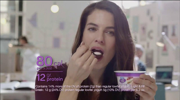 Dannon Light & Fit Greek Blends TV Spot, 'Paper Muffin'