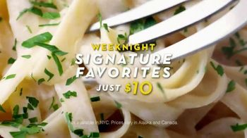 Olive Garden Weeknight Signature Favorites TV Spot, Song by Tim Myers - 1579 commercial airings
