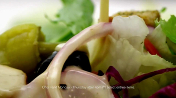 Olive Garden Weeknight Signature Favorites TV Spot, Song by Tim Myers - Thumbnail 8
