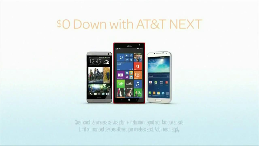AT&T Next TV Commercial, 'Start New Year's Right'