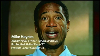 Know Your Stats TV Spot Feat. Roger Goodell, Mike Haynes, Harry Carson - 4 commercial airings