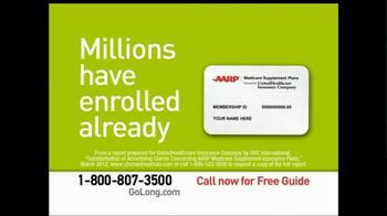 AARP Healthcare Options TV Spot, 'Go Long' - Thumbnail 9