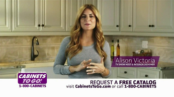Cabinets To Go TV Spot  Featuring Alison Victoria - Thumbnail 8