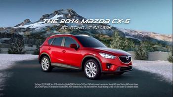 2014 Mazda CX-5 TV Spot, 'The Tom Sims Snowboard' - Thumbnail 6