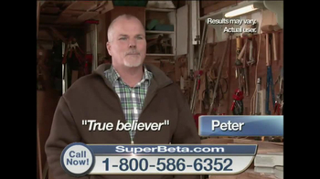 Super Beta Prostate TV Spot Featuring William Devane - Thumbnail 8