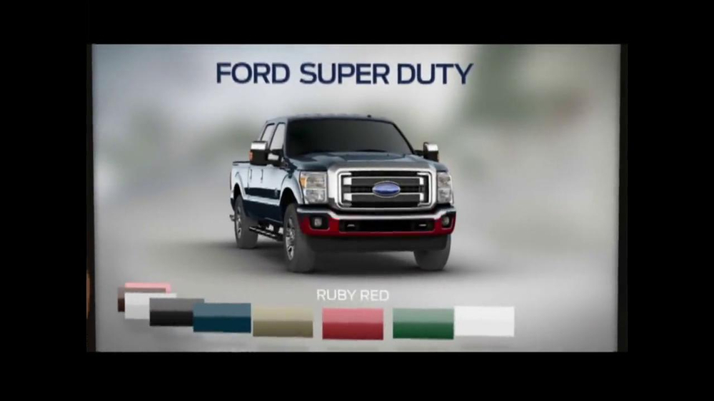 2014 Ford Super Duty TV Commercial, 'Crunch Time'