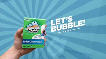 Scrubbing Bubbles Toilet Cleaning Gel TV Spot, 'Automatic Toilet Cleaner' - Thumbnail 3