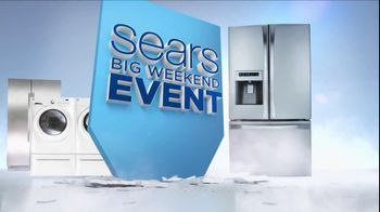 Sears Big Weekend Event TV Spot - 134 commercial airings