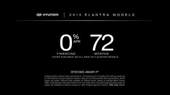 2013 Hyundai Elantra TV Spot, 'Type' - Thumbnail 10