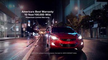 2013 Hyundai Elantra TV Spot, 'Type' - 832 commercial airings