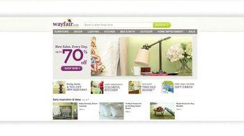 Wayfair TV Spot, 'Bring Your Home to Life'