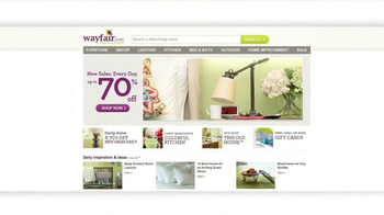 Wayfair TV Spot, 'Bring Your Home to Life'