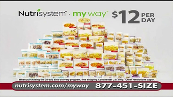 Nutrisystem My Way TV Spot, 'Personalized'