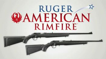 Ruger American Rimfire Rifle TV Spot